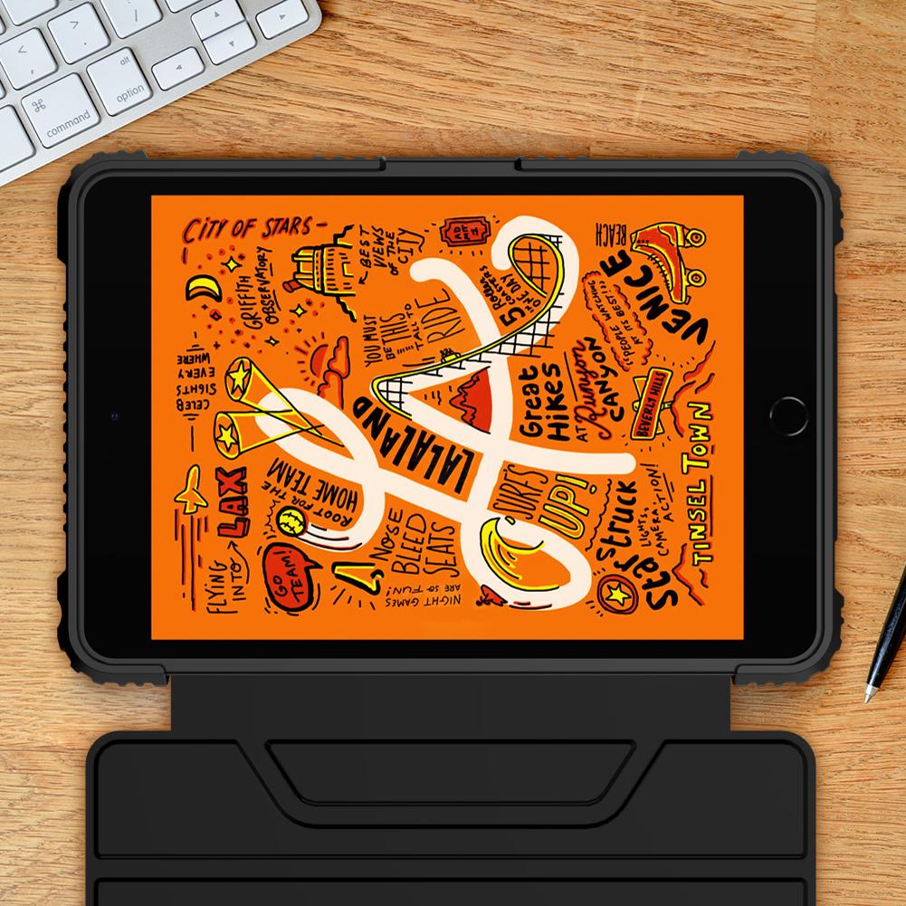 Etui Nillkin Bumper dla Apple iPad Mini 5 2019 - Magnetyczne zamknięcie
