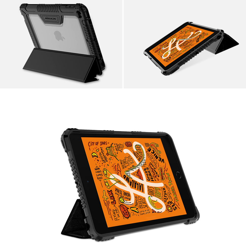 Etui Nillkin Bumper dla Apple iPad Mini 5 2019 - Wzmacniane ranty oraz gniazdo aparatu