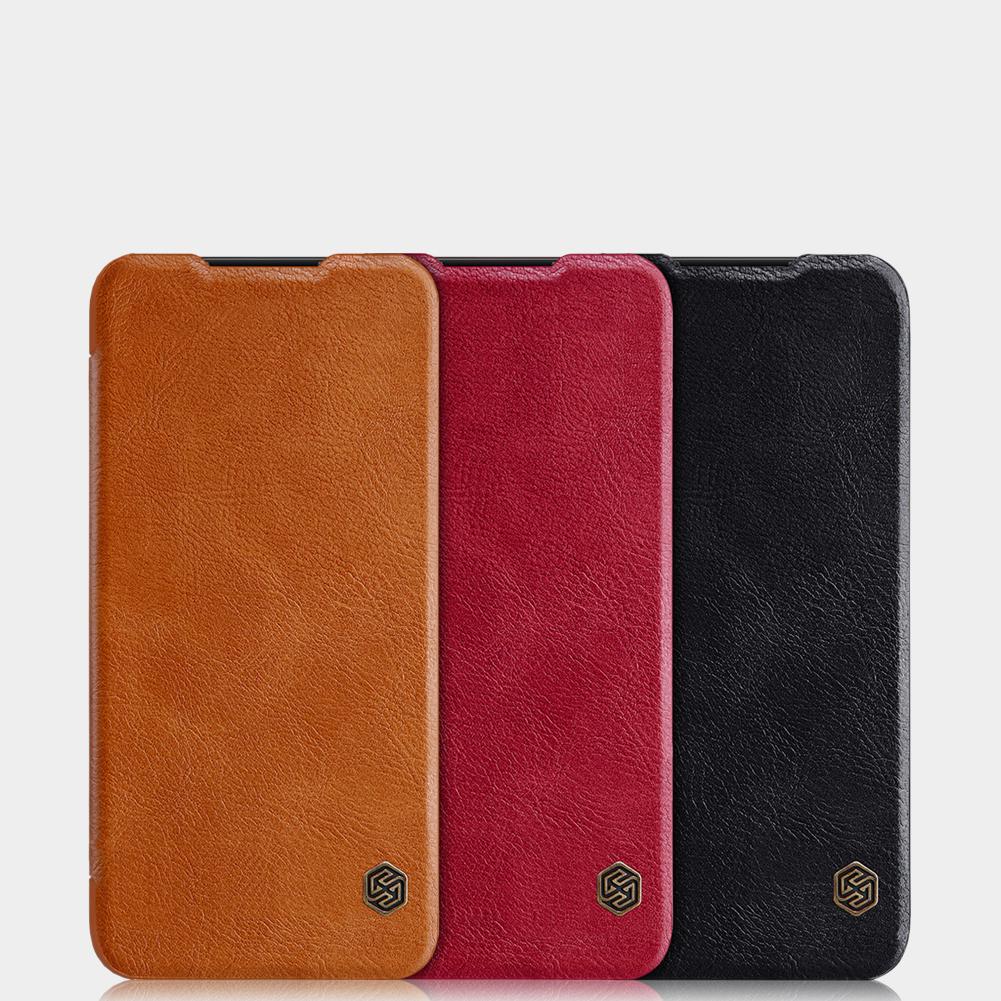 Etui Nillkin QIN dla Xiaomi Redmi Note 7+ szkło hartowane Nillkin Amazing H - Specyfikacja: ZZS Etui NILLKIN QIN Redmi Note 7 + Szkło Amazing H