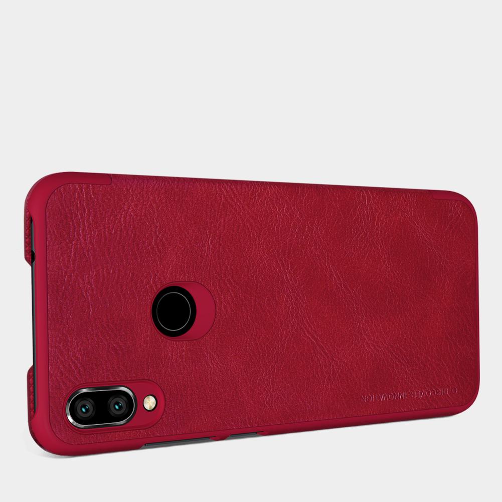 Etui Nillkin QIN dla Xiaomi Redmi Note 7+ szkło hartowane Nillkin Amazing H - Zamykana klapka - świetna ochrona oraz niecodzienny design