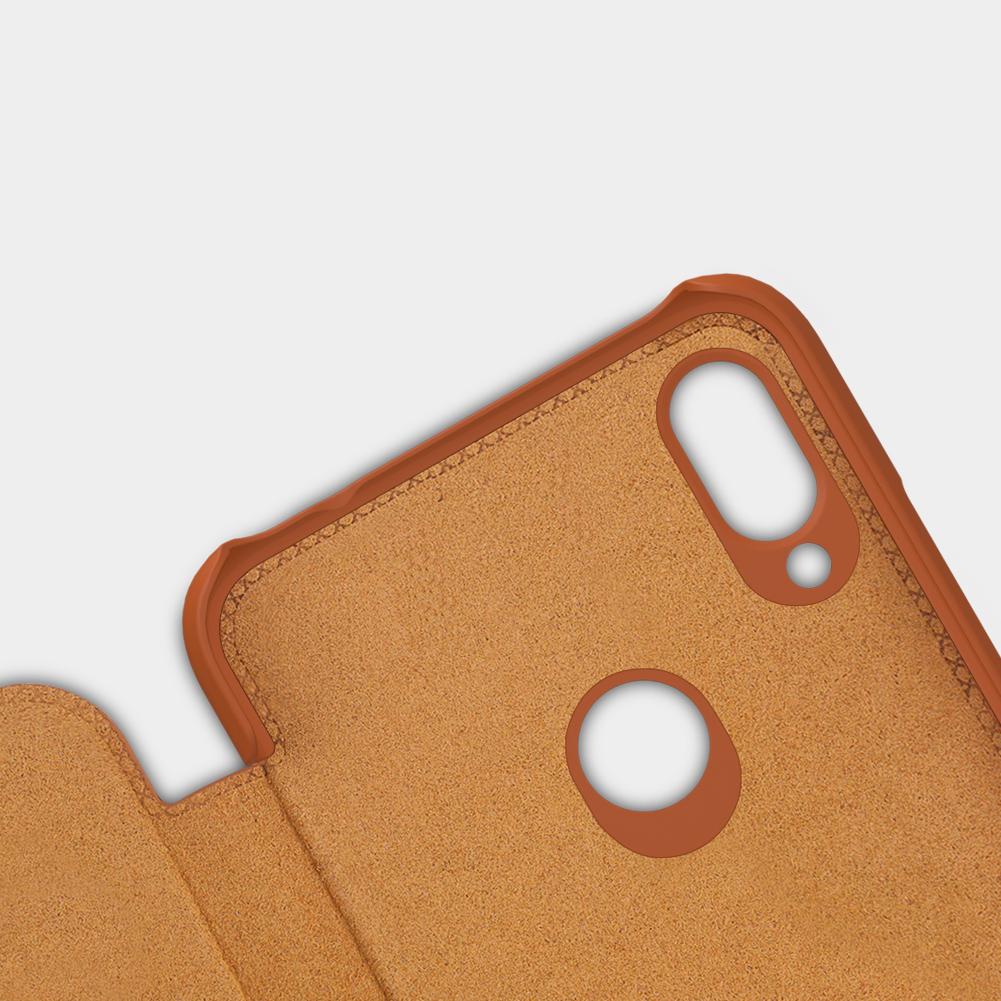 Etui Nillkin QIN dla Xiaomi Redmi Note 7+ szkło hartowane Nillkin Amazing H - Ochrona i wysoki komfort użytkowania