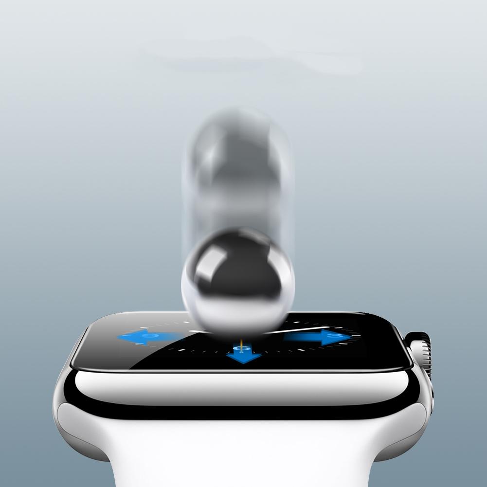 Szkło NILLKIN 3D AW+FULL Apple Watch S1/S2/S3 38 mm - Zestaw zawiera