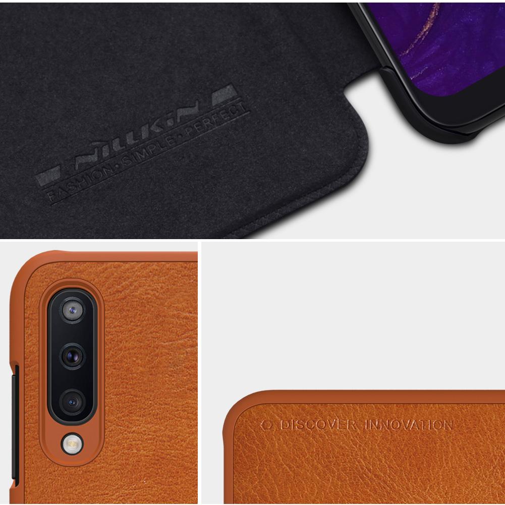 Etui Nillkin QIN dla Samsung Galaxy A50 - Specyfikacja: Etui skórzane Nillkin QIN Samsung Galaxy A50