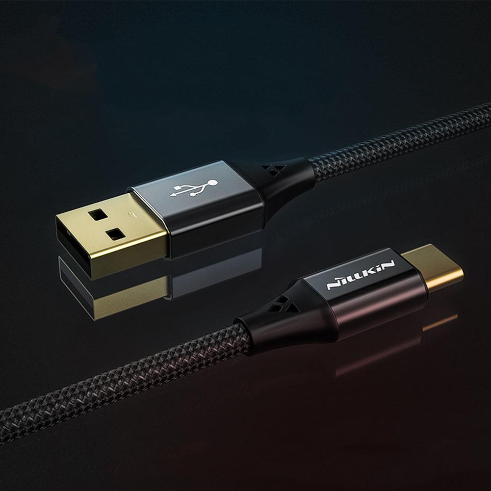 Kabel NILLKIN Speed Typ C - nylonowy oplot - Zestaw zawiera: