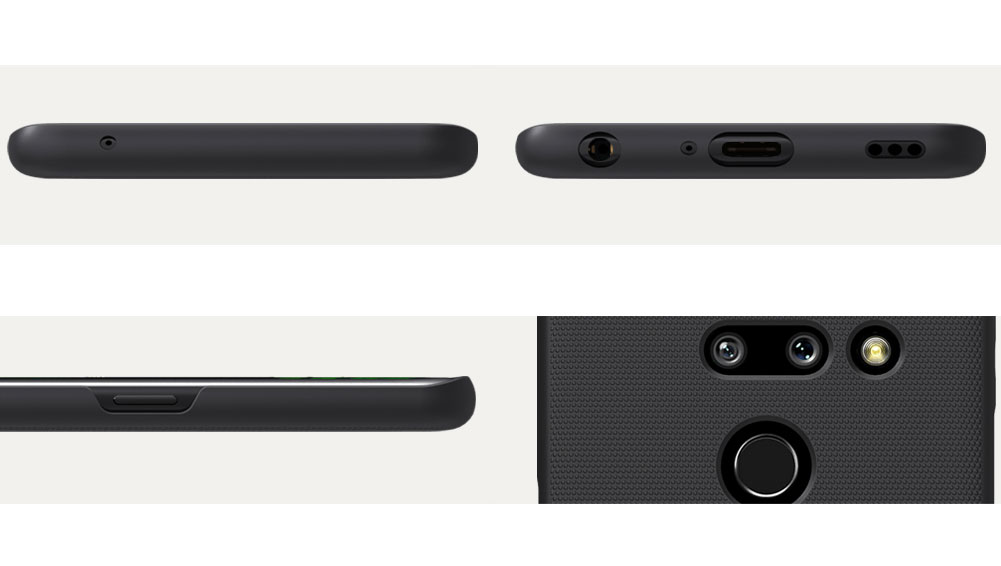 Etui Nillkin Frosted Shield dla LG G8 ThinQ - Doskonale leży w dłoni