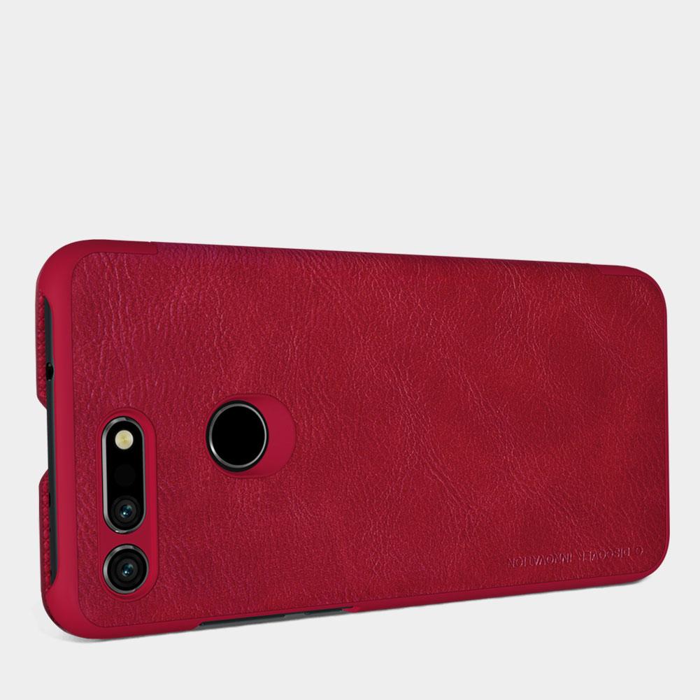 Etui Nillkin QIN dla Huawei Honor View 20 - Specyfikacja: [PG]Etui skórzane Nillkin QIN Huawei Honor View 20