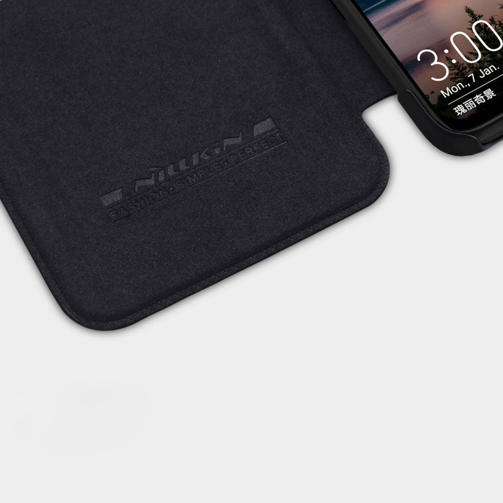 Etui Nillkin QIN dla Huawei Honor View 20 - Zamykana klapka - świetna ochrona oraz niecodzienny design