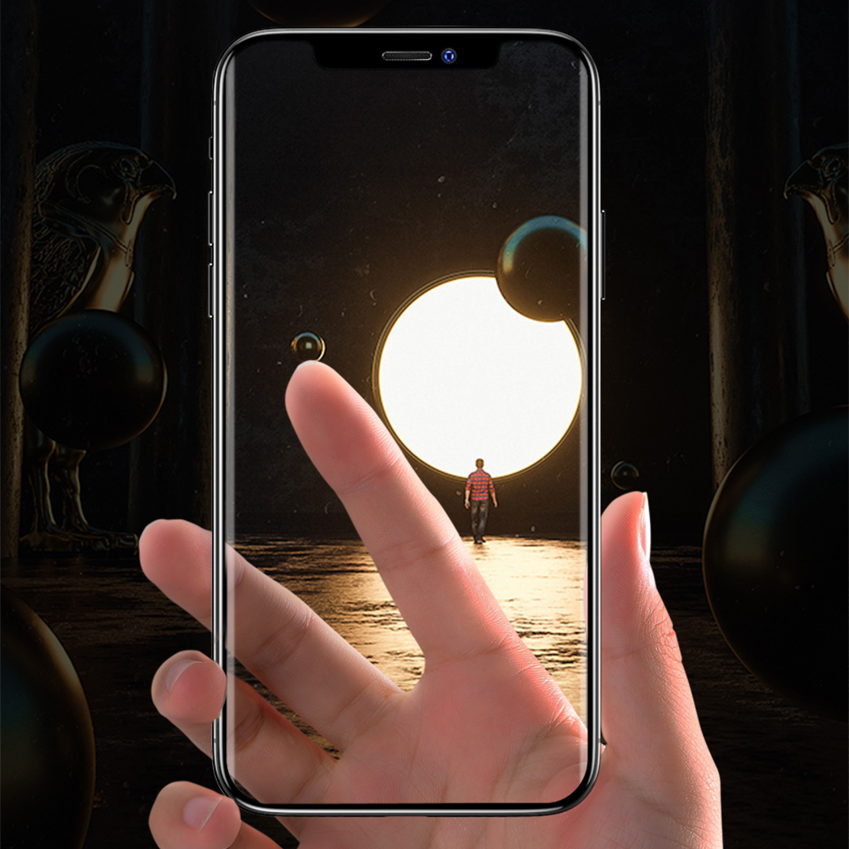 Szkło hartowane BENKS X PRO+ KING KONG 3D dla Apple iPhone X/XS - Profilowane szkło 3D