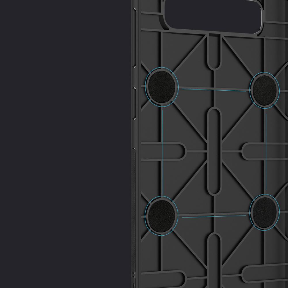 Etui Nillkin Magic Case wspierające ładowanie indukcyjne dla Samsung Galaxy S10 - Zestaw zawiera