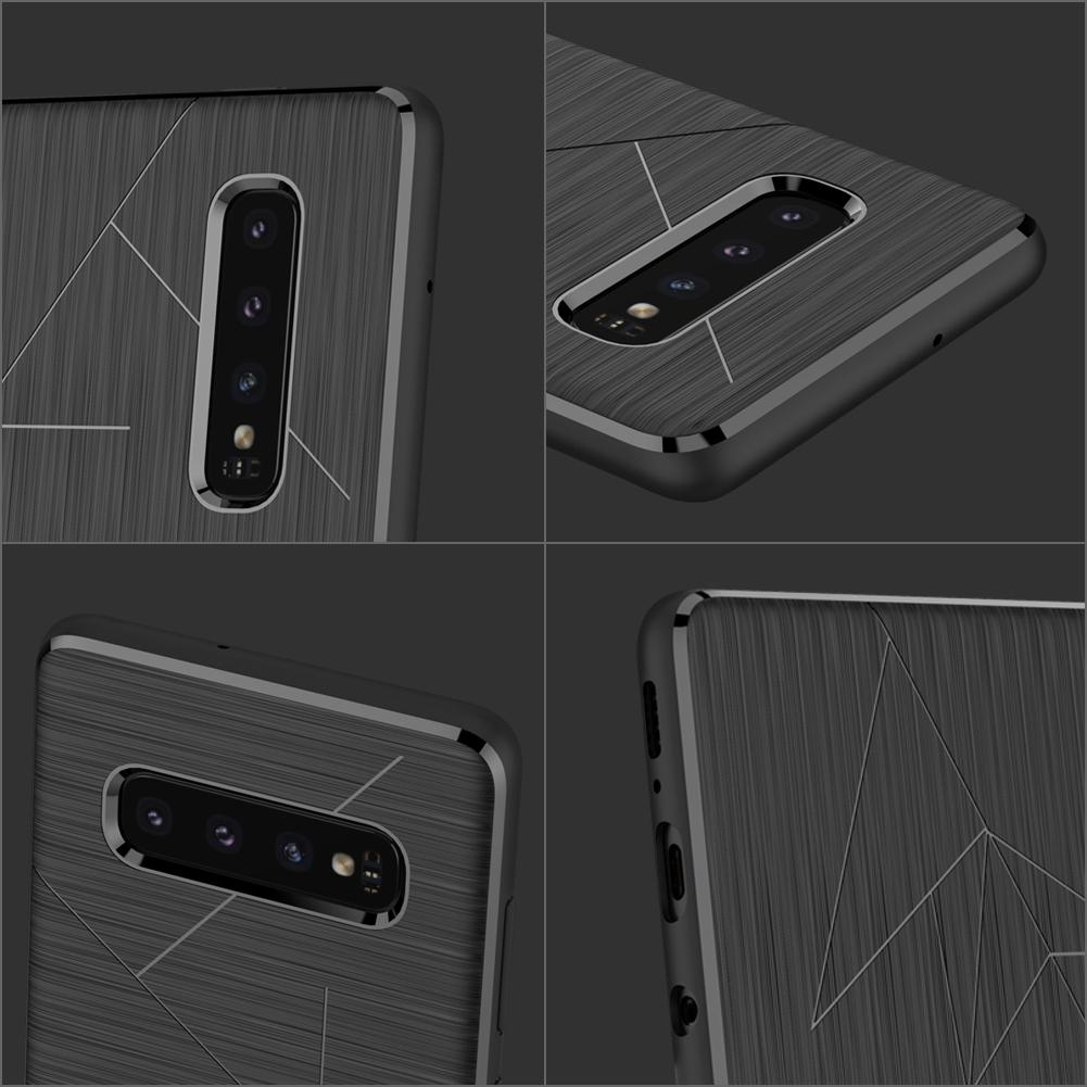 Etui Nillkin Magic Case wspierające ładowanie indukcyjne dla Samsung Galaxy S10 - Mangetyczne etui Magic Case