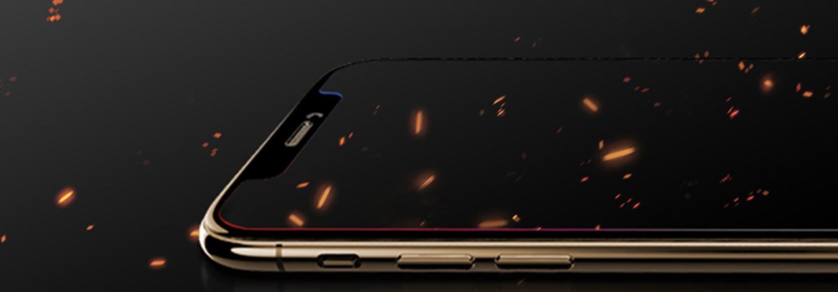 Szkło hartowane BENKS OKR+ dla Apple iPhone X/XS - Zestaw zawiera