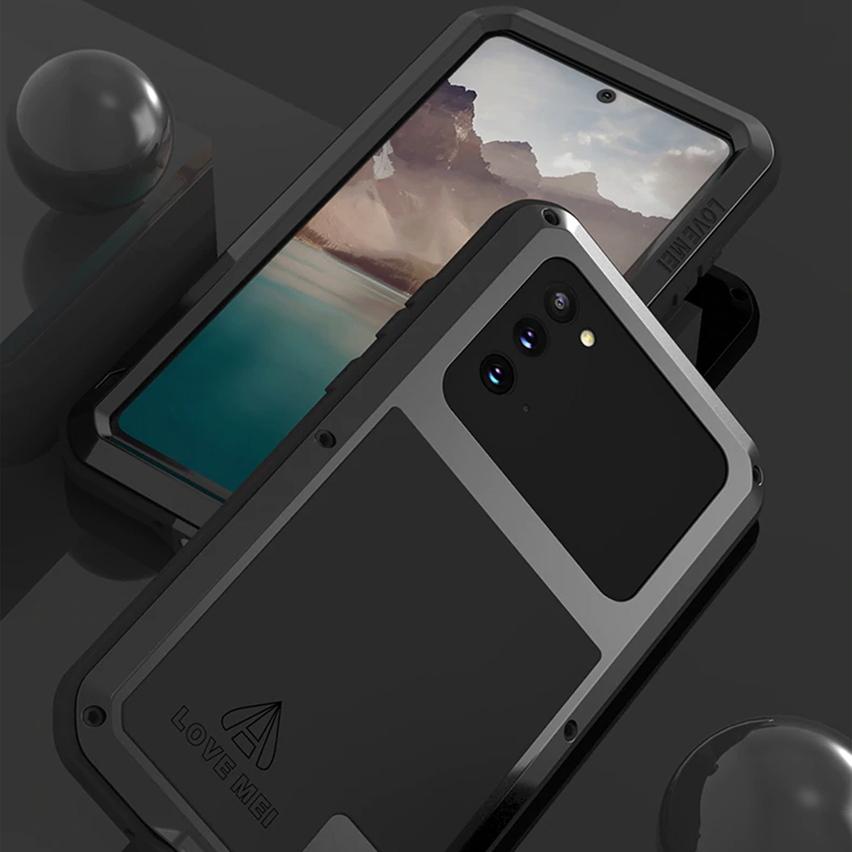 Etui Love Mei dla Samsung Galaxy Note 20 - Ochrona soczewki aparatu